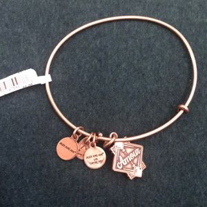 Alex and ani amour with rhinestone